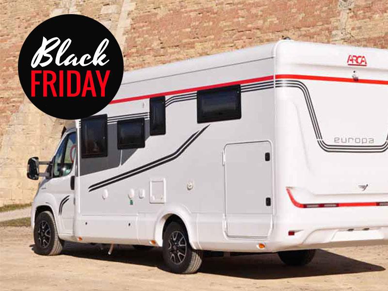 Black Friday camper e caravan - Grosso Vacanze
