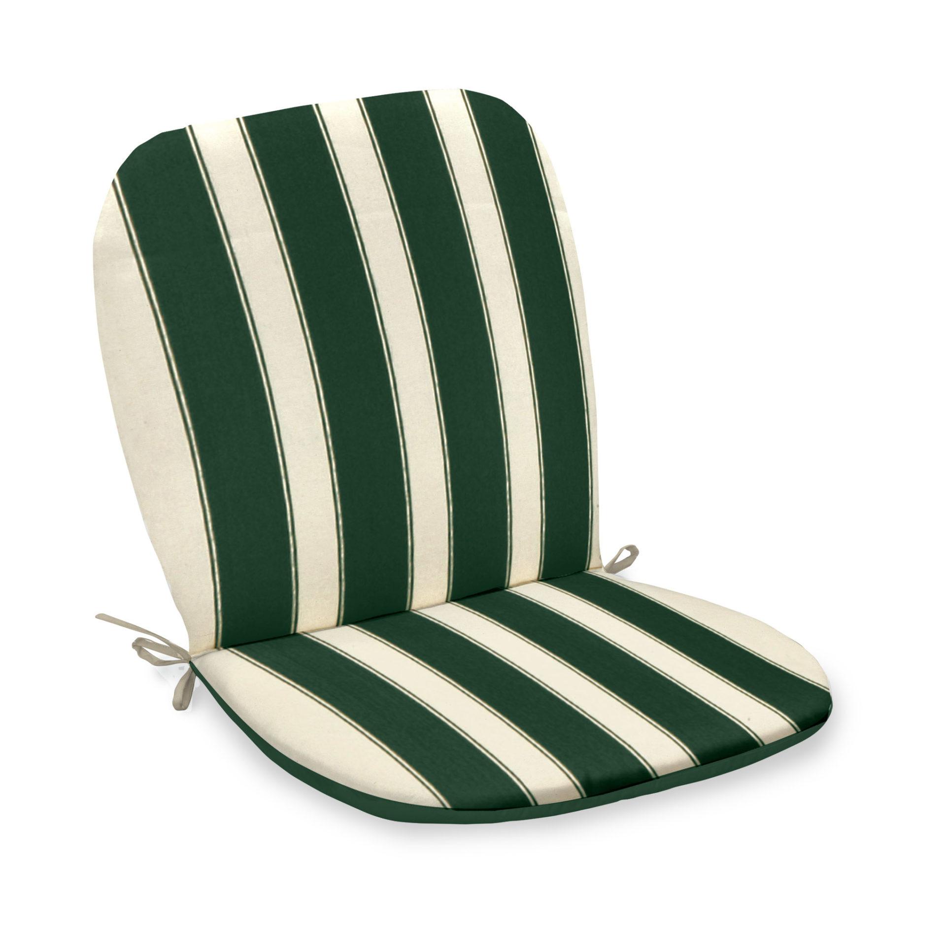 Cuscini Idrorepellenti Per Esterno cuscino per poltrona monoblocco righe verdi re garden
