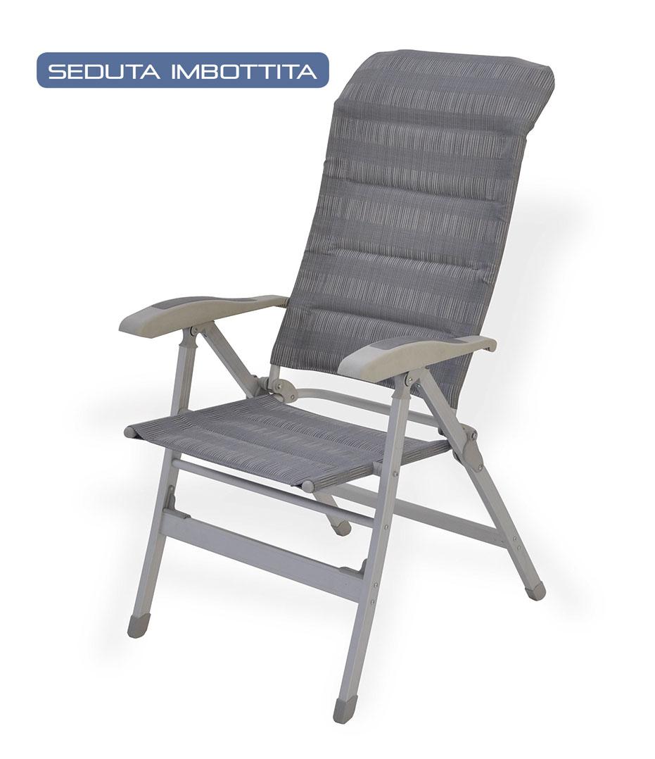 4faf36398b SEDIA RECLINABILE 8 POSIZIONI STYLE | Grosso Vacanze